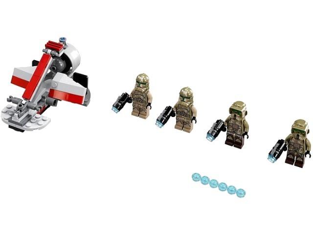 Звёздные войны 75035 боевой комплект