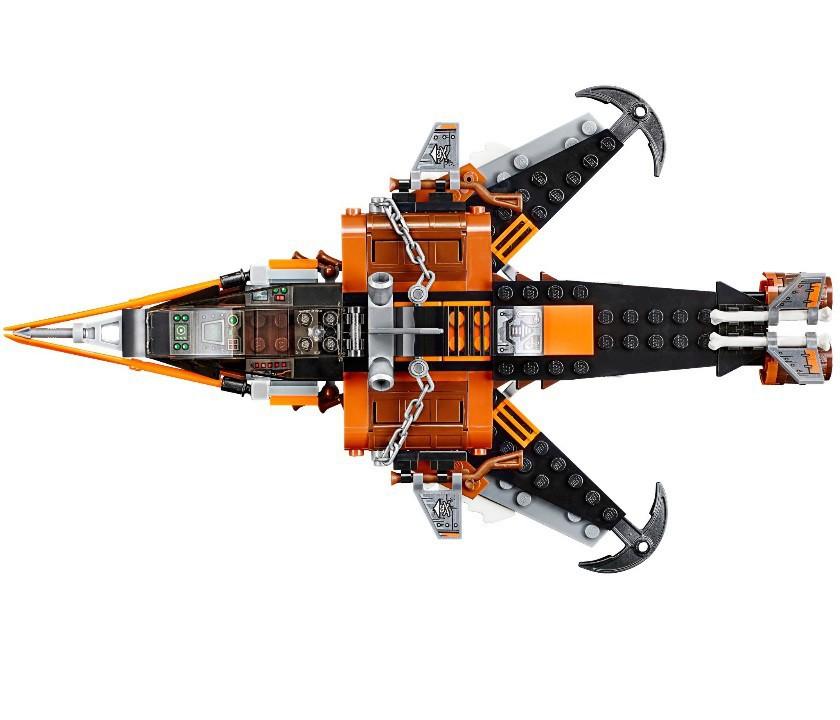 Лего Ниндзя Го Инструкция 70601 - фото 9
