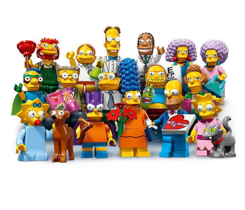 Минифигурки the simpsons 71009 серия 2 (lego minifigures) купить в HC410