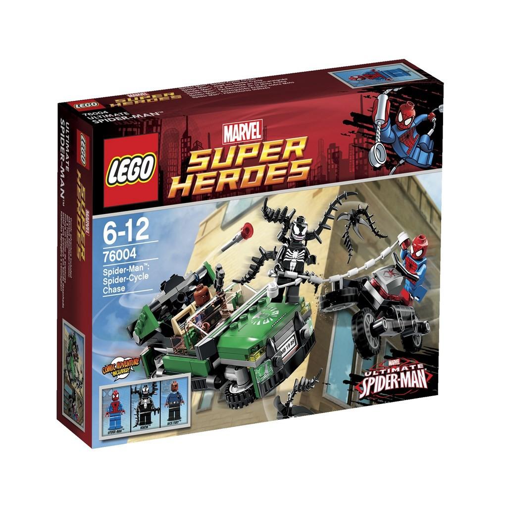 Супер герои marvel 76004 охота со спайдер
