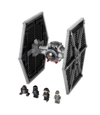 Звёздные войны 9492 истребитель tie lego