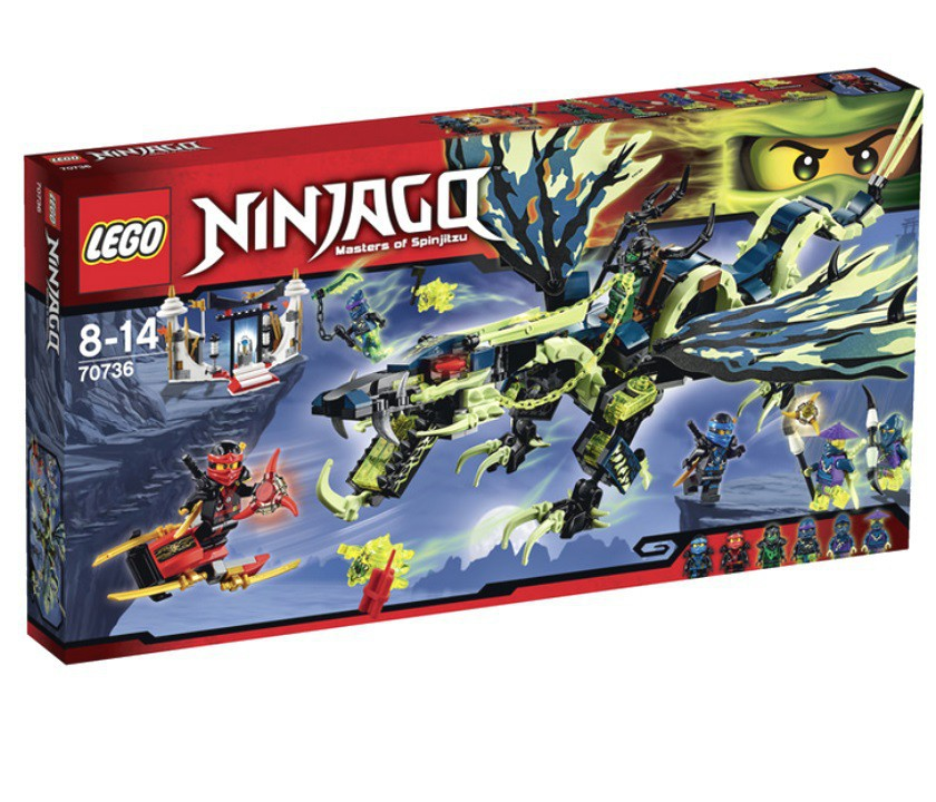 """Ниндзяго 70736 """"Атака Дракона"""