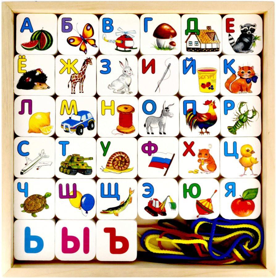 Алфавит изучают в разделе