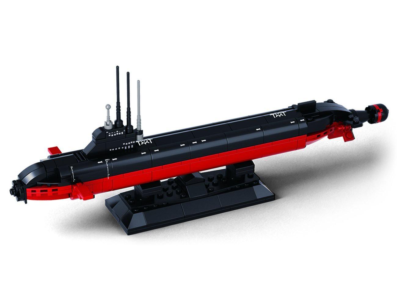 Схема подводной лодки конструктора лего