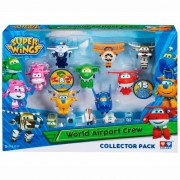 "Игрушка SUPER WINGS YW710640 ""Набор «Команда Аэропорта» 8 мини-трансформеров и 7 фигурок"" - Интернет-магазин конструкторов Лего kubikon.ru, г. Екатеринбург"