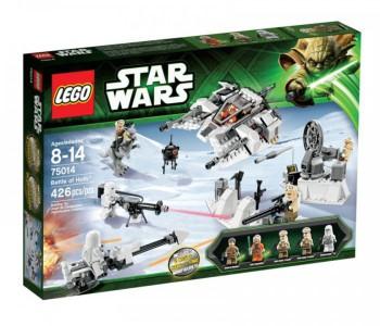 Звёздные войны 75014 битва за хот lego